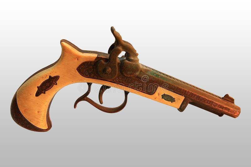 antyka pistolet obrazy stock