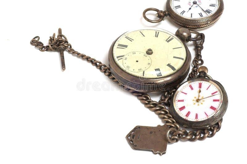 antykwarscy zegarki zdjęcia stock