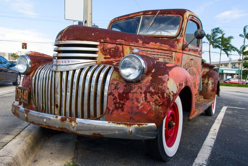 Antykwarska Chevrolet ciężarówka zdjęcia stock