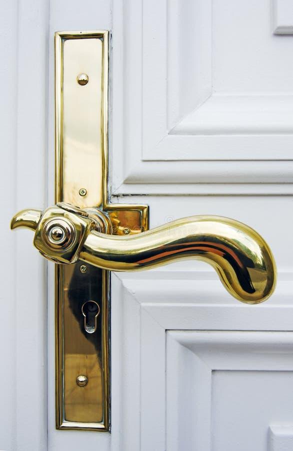 antykwarska drzwiowa rękojeść obrazy royalty free