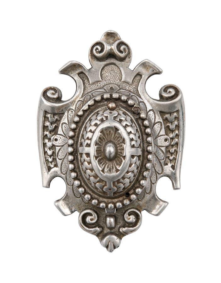 Antykwarska drzwiowa rękojeść obraz royalty free