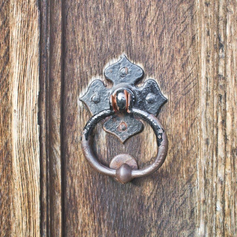 Antykwarska drzwiowa rękojeść fotografia royalty free