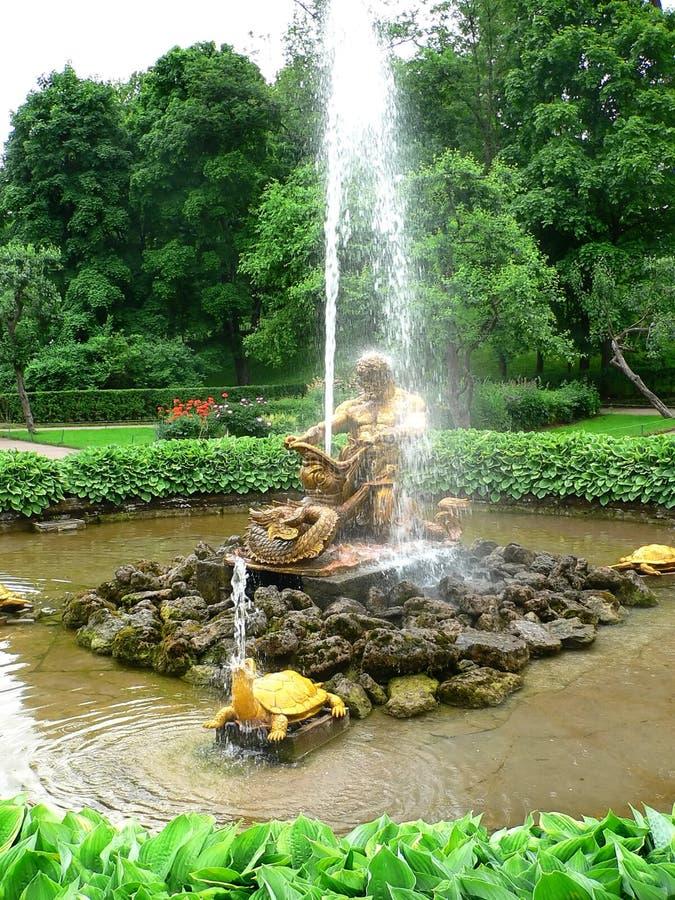 antykwarska fontanna obraz royalty free