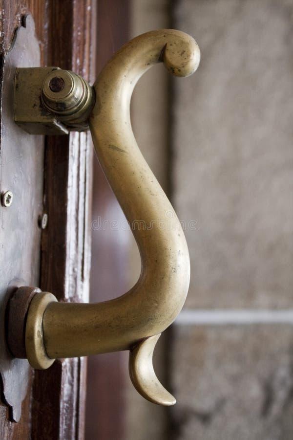antykwarska klamki drzwi zdjęcie royalty free