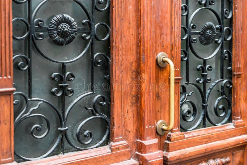 antykwarska klamki drzwi fotografia royalty free