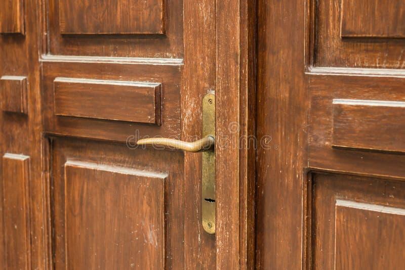 antykwarska klamki drzwi zdjęcia stock