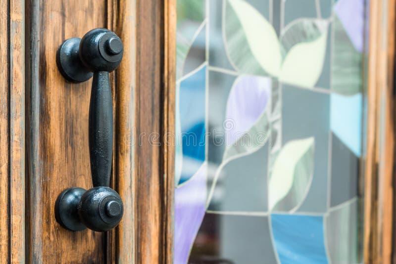 antykwarska klamki drzwi zdjęcia royalty free