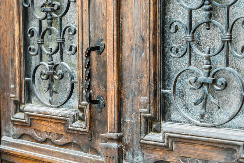 antykwarska klamki drzwi obrazy royalty free