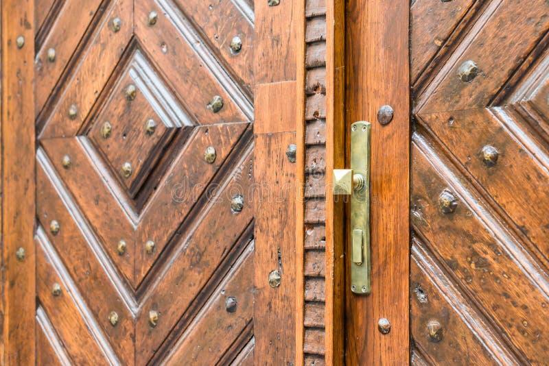 antykwarska klamki drzwi obrazy stock