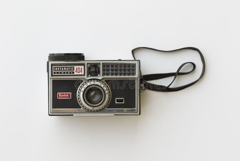 Antykwarska kodak kamera obrazy stock