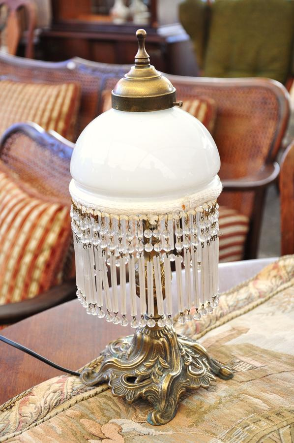 antykwarska lampa zdjęcia stock