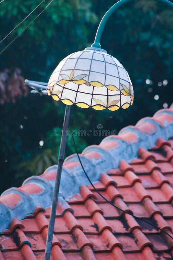 Antykwarska latarnia uliczna zdjęcia royalty free