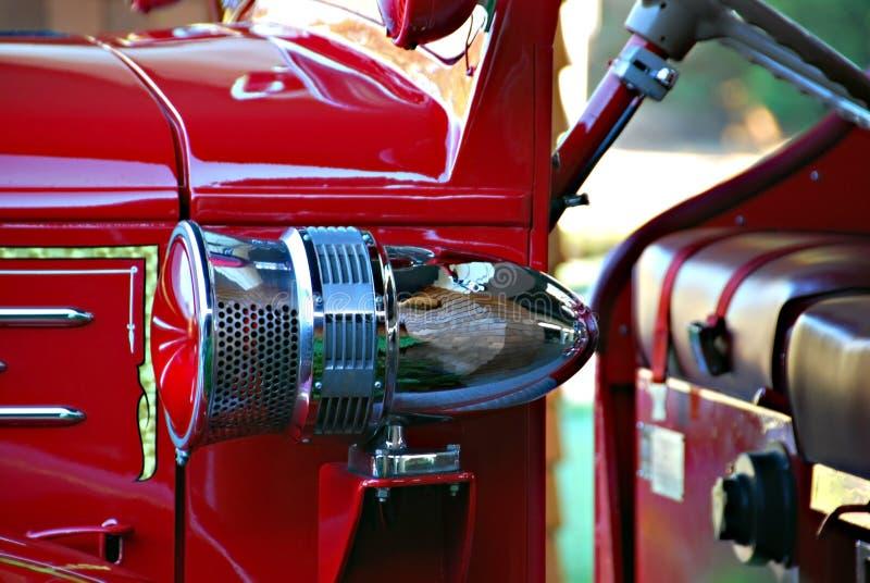 antykwarska pożar silnika syrena obrazy royalty free