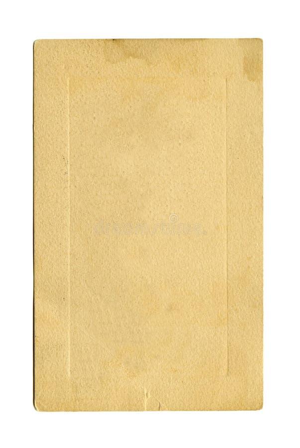 antykwarska pocztówka obrazy stock