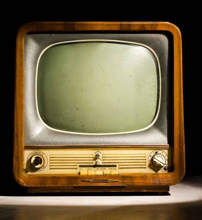antykwarska telewizja zdjęcia stock