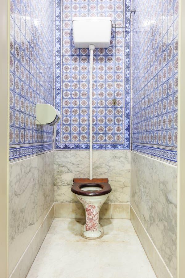 antykwarska toaleta obrazy stock