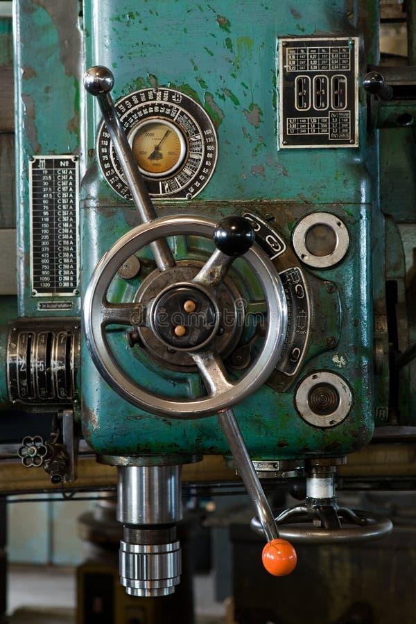 antykwarska wiertnicza maszyna obraz royalty free