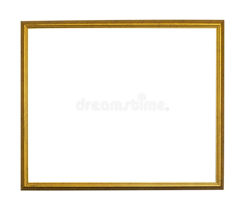 Antykwarska złoto rama zdjęcie stock