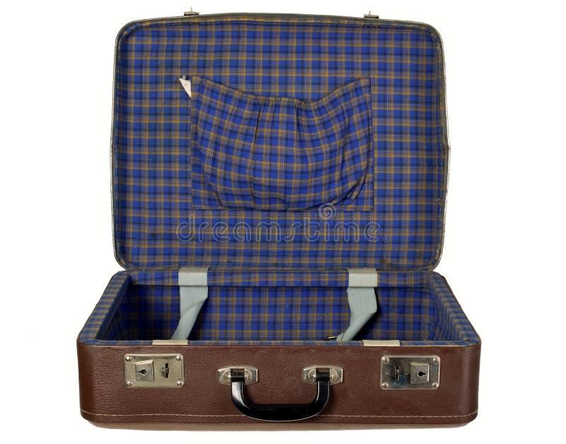 antykwarski bagażnik obraz stock
