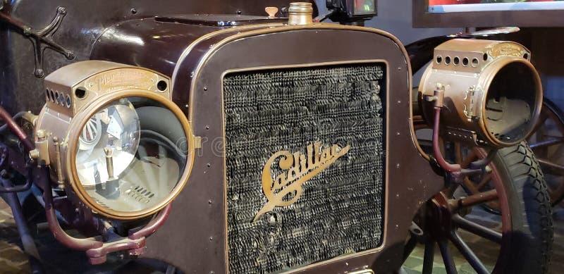 Antykwarski Cadillac samochód zdjęcia stock