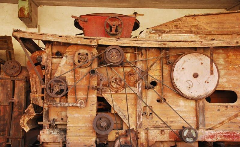 Antykwarski Drewniany Kukurydzany Sheller obrazy stock