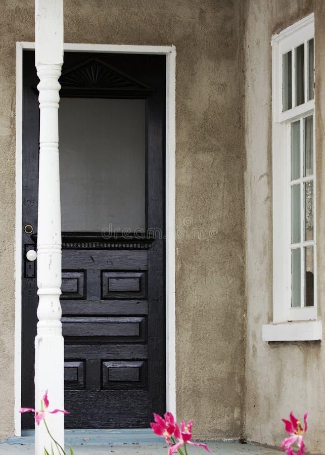 antykwarski drzwi zdjęcie royalty free