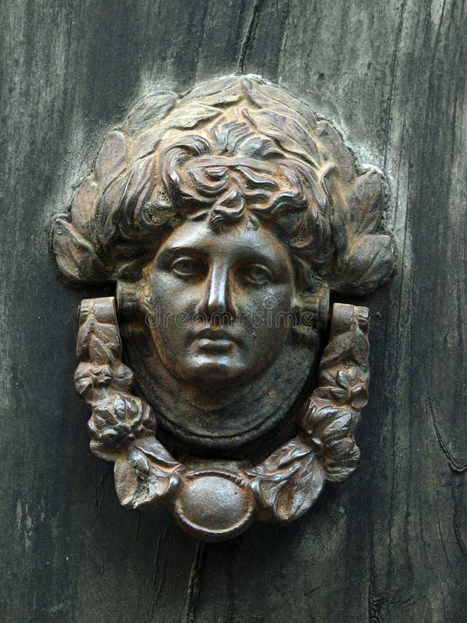 Antykwarski Drzwiowy Knocker zdjęcia royalty free