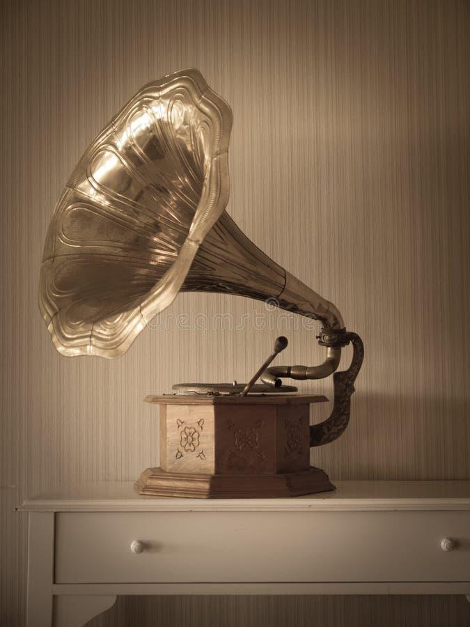 antykwarski fonograf fotografia royalty free