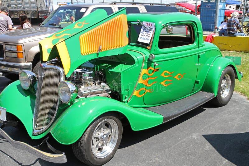 Antykwarski Ford Gorący Rod samochód zdjęcie stock