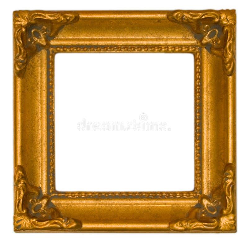 antykwarski jaskrawy ramowy złoto zdjęcie stock