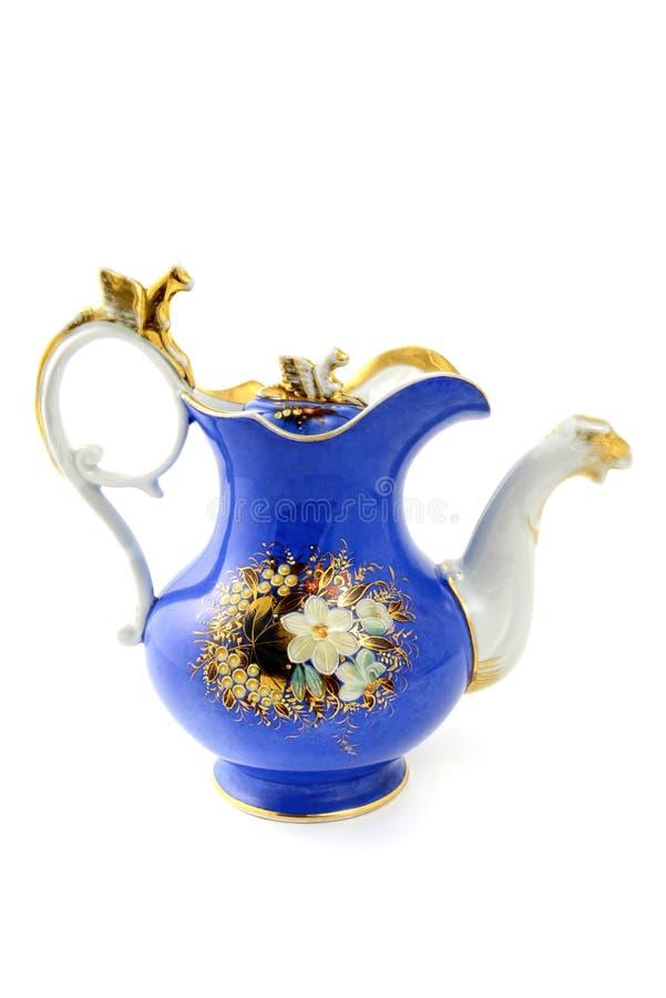 Antykwarski kawowy garnek historicism czasu teren zdjęcie royalty free
