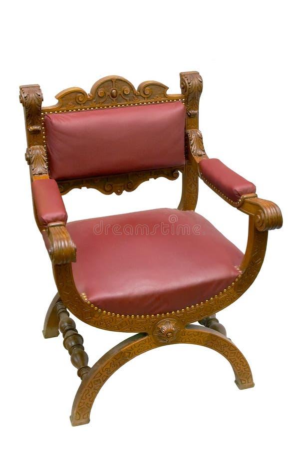 antykwarski krzesło zdjęcia stock