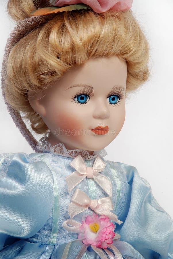 antykwarski lali twarzy porcelany portret obrazy royalty free