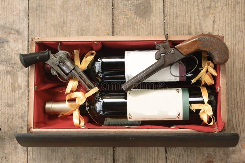antykwarski pistolet zdjęcie stock
