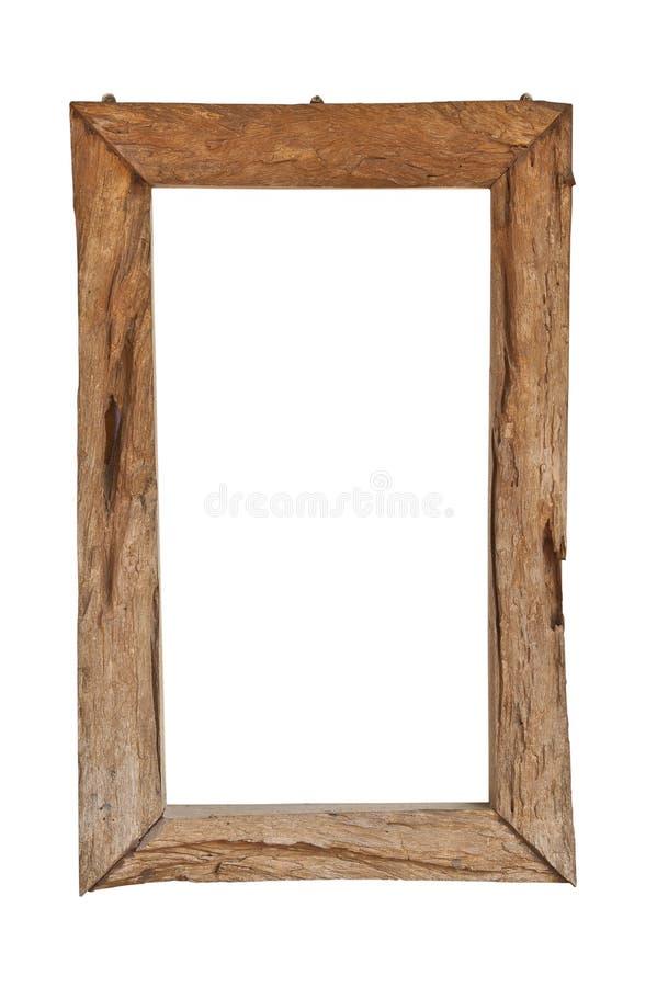antykwarski ramowy drewno obrazy royalty free