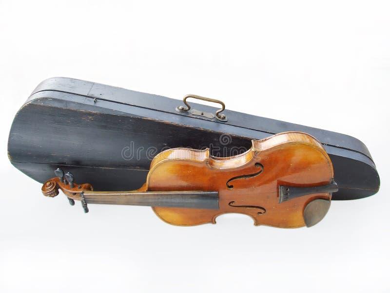 Antykwarski skrzypce zdjęcia stock