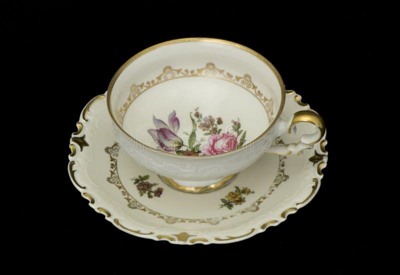 antykwarski teacup zdjęcie royalty free