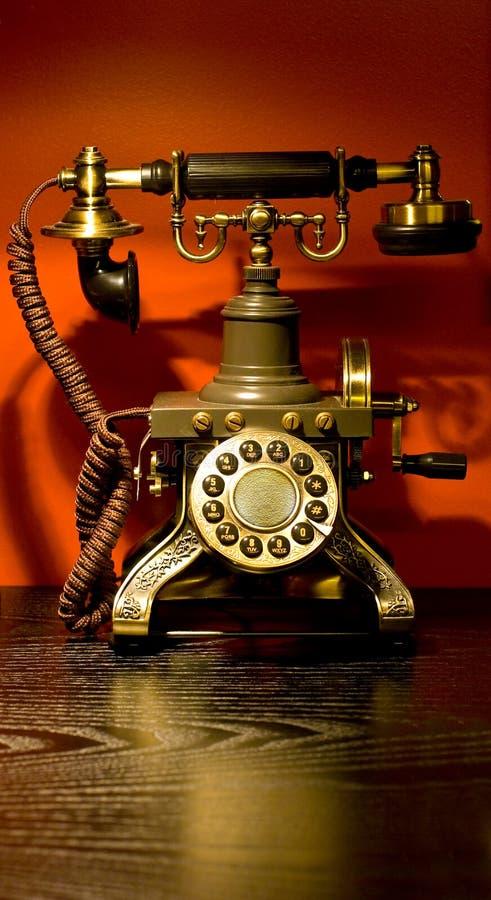 antykwarski telefon obraz royalty free