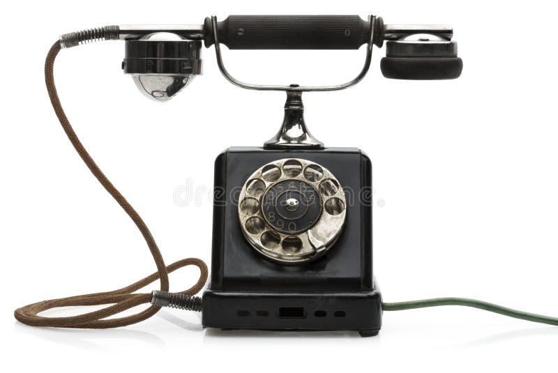 antykwarski telefon obrazy royalty free