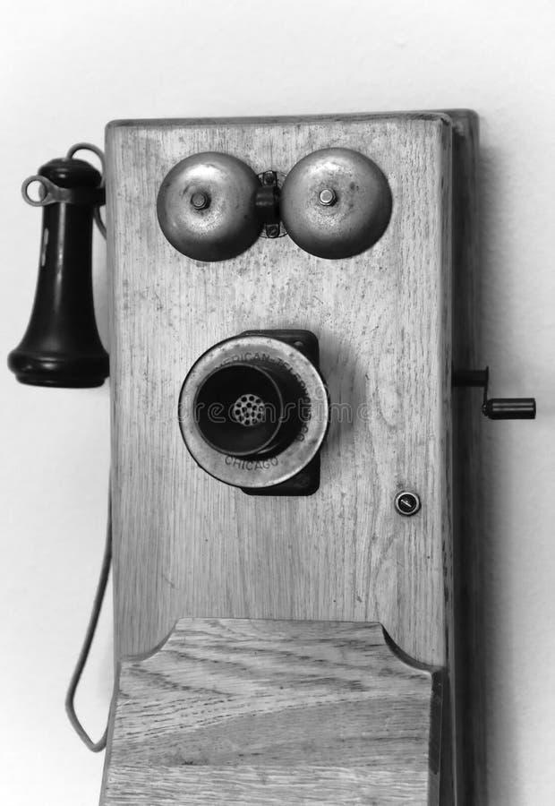 antykwarski telefon obrazy stock