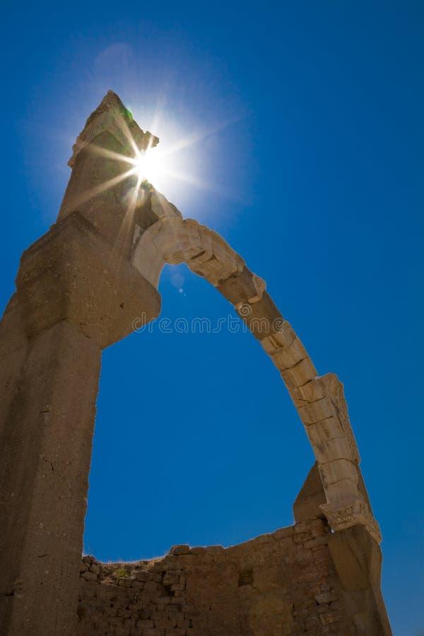 Antykwarski łuku Ephesus Indyk Obrazy Stock