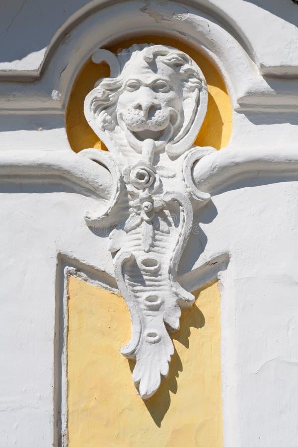 antykwarski wystroju parka peterhof obraz royalty free