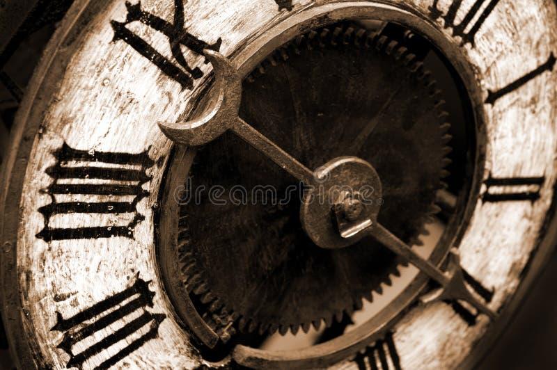 antykwarski zegar fotografia royalty free