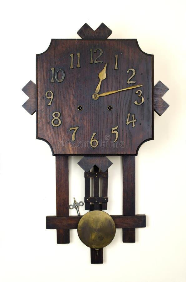 antykwarski zegarowy wahadło zdjęcia stock