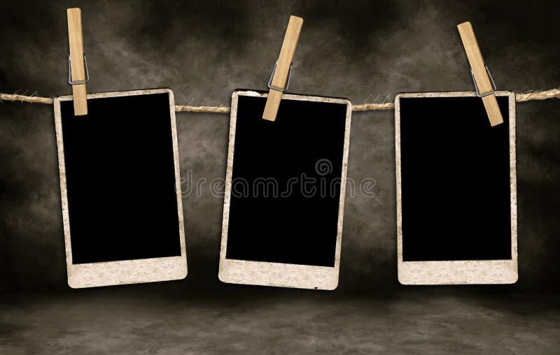 antykwarskich pustych miejsc ekranowa obwieszenia arkana zdjęcia stock