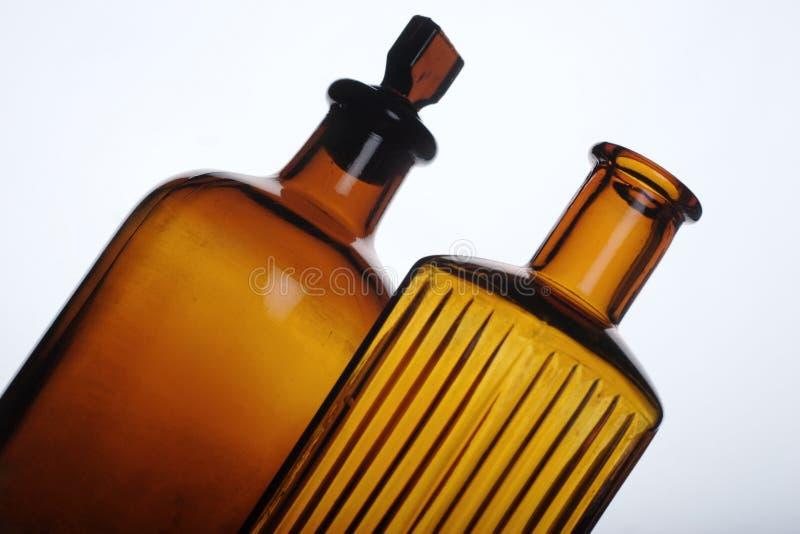 antykwarskie butelek obraz stock