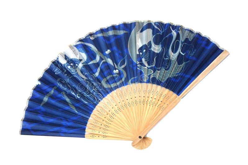 Antykwarskiego fan Japoński falcowanie zdjęcia royalty free