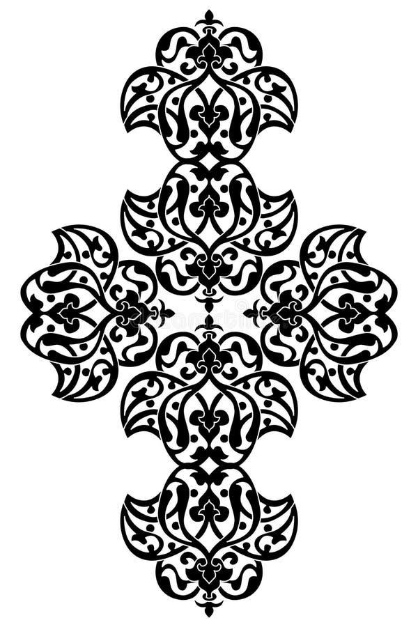 Antykwarskiego ottoman turecki wektorowy projekt jeden royalty ilustracja