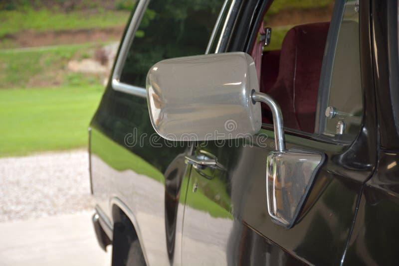 antykwarskiego samochodu szczegół fotografia royalty free
