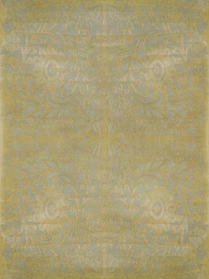 antykwarskiego tła światła pergaminowa ślimacznica obraz royalty free